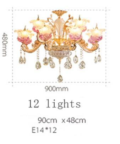 12 luzes