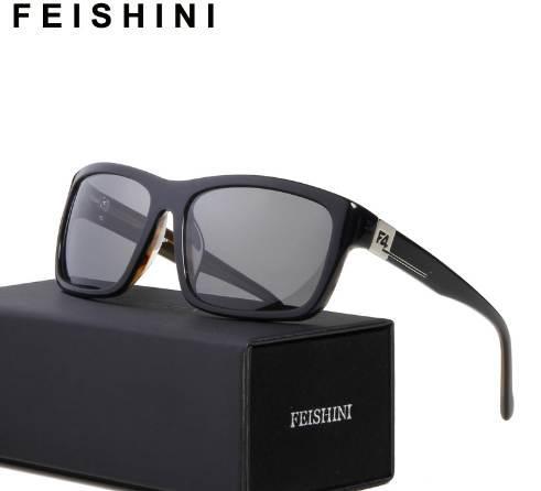 Compre FEIDHINI Marca Diseñadores Acetato Gafas De Sol Hombres Polaroid  COOL Moda Corea Rectángulo Gafas De Sol Mujeres Retro Polarizado A  33.51  ... 9086aaccae89