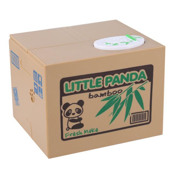 Viskey Cute Stealing Coin Cat Money Box Piggy Bank, Panda For Kids Birthday Gift High Quality Hot Sale
