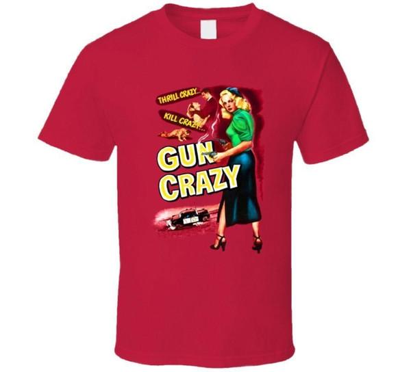 Gun Crazy, T-shirt, Peggy Cummins, B-movie, Retro, 1950's, Crime