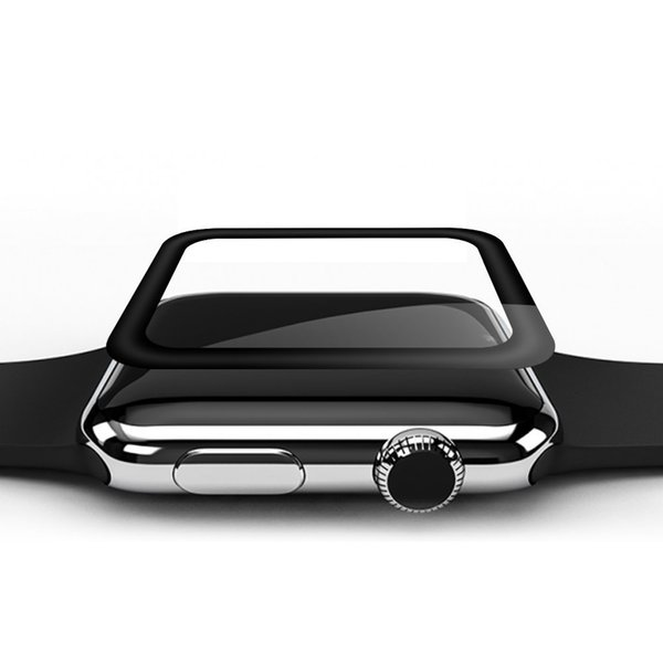 3D Curved Edge Screen Protector for iwatch 38 42 mm Glass Tempered Glass For Apple Watch Series 1 2 3 38mm 42mm Cover Film