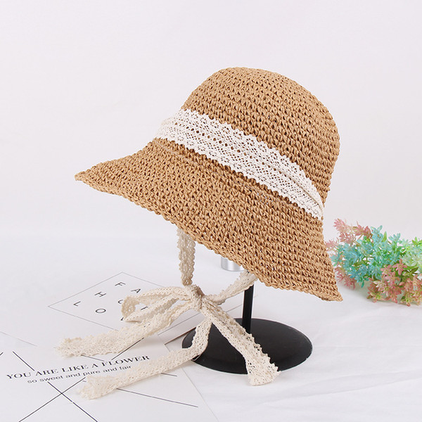 Summer Hats for Women Adult Casual Straw  Dresses Sombrero Hat Women Beach Cap for Ladies Luffy Straw Chapeau 2018