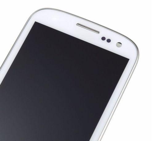 blu e bianco per Samsung Galaxy S3 i9300 display lcd touch screen digitizer + montaggio telaio ricambi parti spedizione gratuita + inseguimento no
