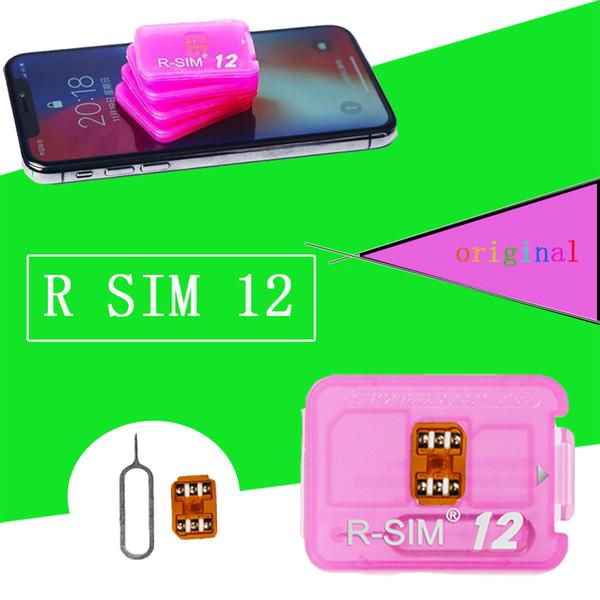 LATEST Rsim 12+ r sim 12+ RSIM12+ iphone unlock card for iPhone 8 iPhone 7 plus and i6 unlocked iOS 11.3 4G CDMA GSM WCDMA SB AU SPRINT
