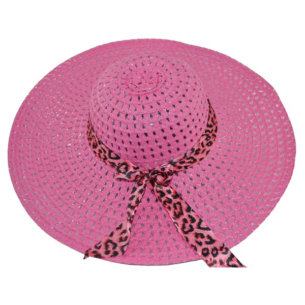 iEASYSEXY 2017 Bohemian Summer Hats for Women Beach Straw Hat Sunscreen Cap Rattan Plaited Hat Ribbon Bow Print Boho Sun