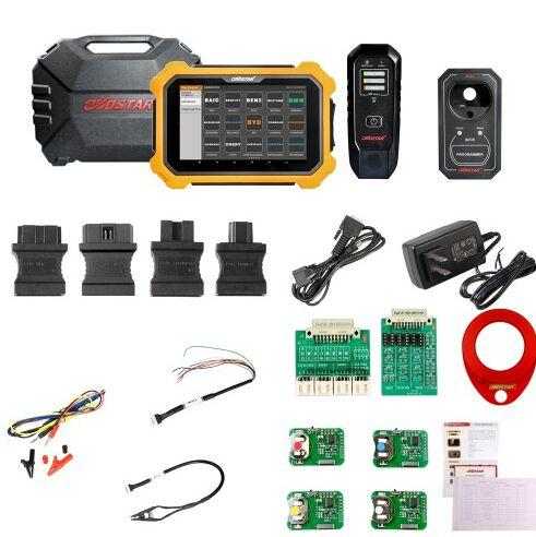 DHL free 2019 OBDSTAR X300 DP Plus X300 PAD2 A Package Basic Version Immobilizer+Special Function EEPROM+others(Ignition coil+Remote tester)