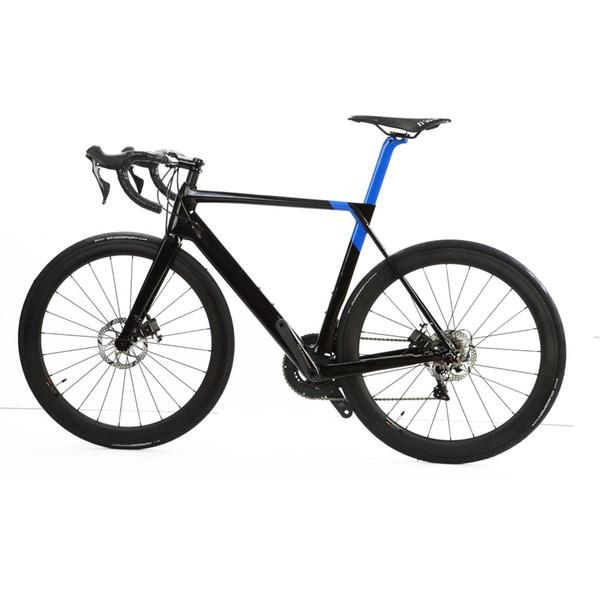 Kohlenstoffscheibenbremsen-Rennrad des Kohlenstoffs 2018 volles Fahrradkohlenstoff BICICLETTA bicyce 22 Geschwindigkeit FREIES VERSCHIFFEN