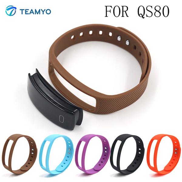 Teamyo заменить ремешок для QS80 силиконовый браслет cicret браслет Smartband смарт браслет носимых устройств ремешок аксессуары