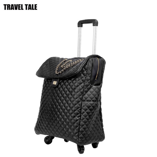 """TRAVEL TALE 18""""20""""inch women travel suitcase retro carry on hand luggage bag for cabin"""