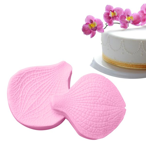 Fondant Cutter Cake Tools Cookie Biscuit Cake Mold Mould Craft DIY Sugarcraft Decorating Tool 2pcs/Set Flower Petals Shape