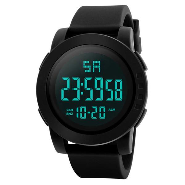 4046e47ba88 Envio Rápido Venda Quente Homens De Luxo Analógico Esporte Exército Digital  LED Pulseira de Relógio de