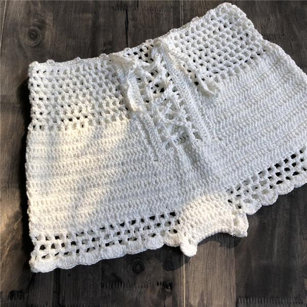 Compre 2018 Traje De Baño De Las Mujeres Crochet Tankinis Traje De ...