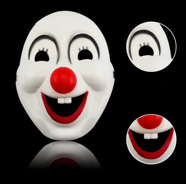 Children's Day Masquerade clown red nose movie clown mask plastic cute clown mask 300 pcs free shipping