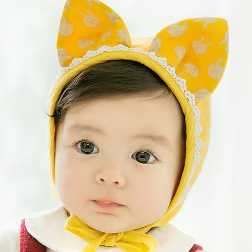 3 Color Autumn Spring Winter Toddler Infant Newborn Baby Adorable Rabbit Ear Hat Baby Bunny Beanie Caps Photo Props
