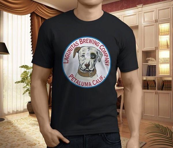 Camisetas de diseño Casual Cool Crew Neck manga corta Office New Lagunitas Beer Camisetas hombre Size: S-3XL Tee For Men