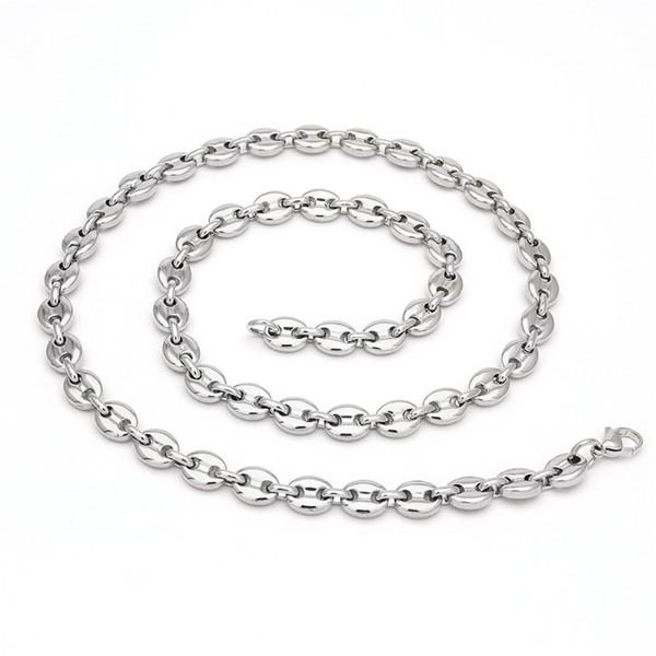 44mixed Colours_silver ожерелье