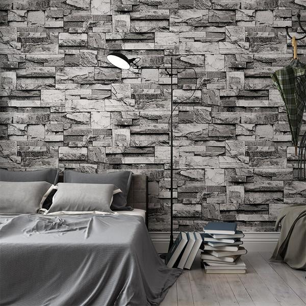 3D Tridimensional PVC tridimensional Imita una sala de estar Televisor Fondo Pared Hotel Restaurante Pasillo Papel tapiz