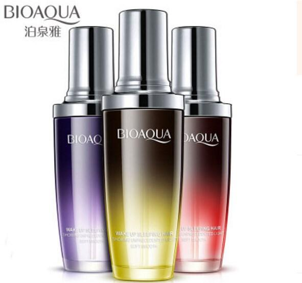 best selling New arrival BIOAQUA Perfume essential oils to improve hair frizz nourish soft tail oil hair products
