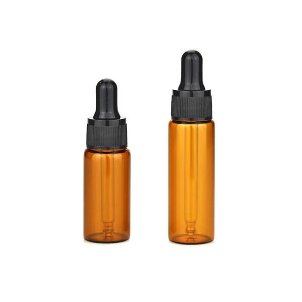 15ml 20ml ambre flacon compte-gouttes en verre brun contenant en verre pour huile essentielle, liquide, utilisation pharm