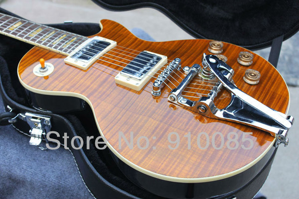 Best Price Paul Custom Shop Electric Guitar Vibrato chibson , Wholesale And Retail, OEM Accepted Free Shipping