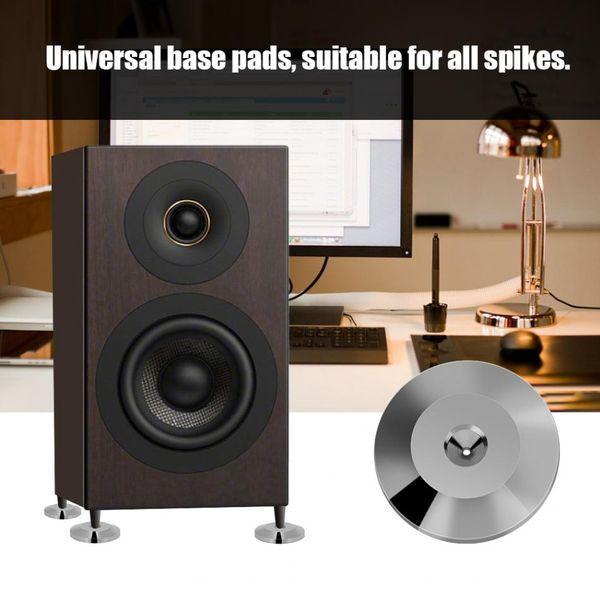 disc pads 3 colors 8 Pcs 25 x 4mm Universal Copper Speaker Shock Base Pad Isolation Feet Mat Floor Disc