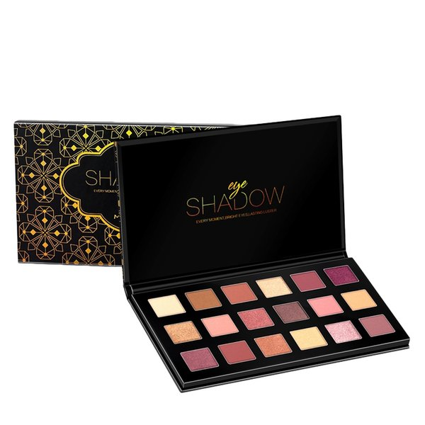 Hot Sell 18 Colors Eyeshadow Palette Shimmer Matte Pressed  Eye Shadow Eyes Pigmented  Cosmetics For Gift Maquiagem