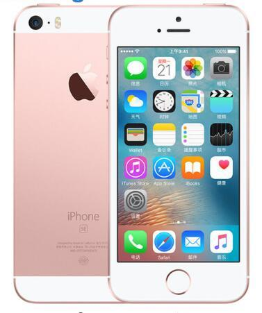 Original Unlocked Apple iPhone SE Cell Phone 4G LTE 4.0' 2GB RAM 16/64GB ROM A9 Dual-core Touch ID refurbishediphonese