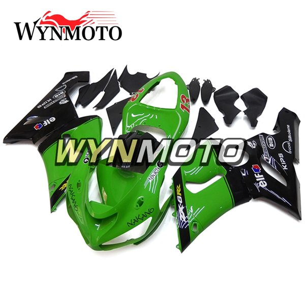 For Kawasaki ZX-6R 2005 - 2006 New Bodywork Motorcycle Covers ZX-6R 2005 2006 Green Black Red Decals Plastic ABS Injection Fairing Kits