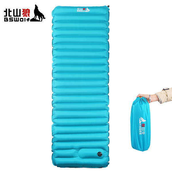 outdoor thick 9cm sleeping bed bagsautomatic inflatable cushion pad tent camping mats double bed mattress Built-in Inflator Pump Picnic Mat