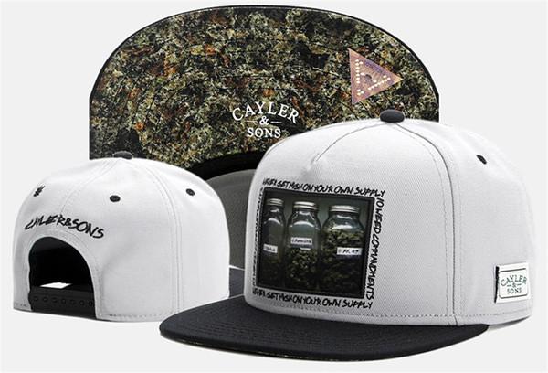 Brand new Cayler & Sons baseball hats for women men sport snapback caps brand swag hip hop cap gorras bones