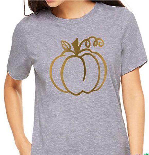 Das T-Stück der Frauen Halloween-Kürbis-lustige grafische Unisexmode-Schmutz-Tumblr-T-Shirts Frauen-beiläufiges Party-Geschenk