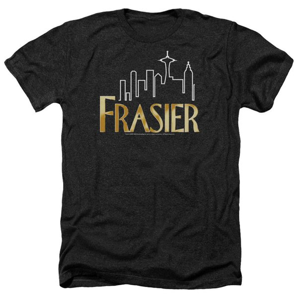 Detaylar zu FRASIER TV Show LOGO Lisanslı Yetişkin Heather T-Shirt Tüm Boyutları Komik ücretsiz kargo Unisex Rahat tee hediye