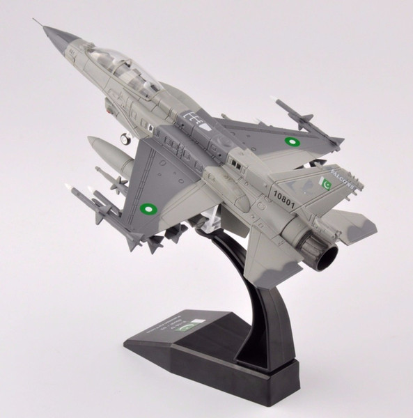1/72 Scale Diecast F-16 Block-52 Pakistan Air Force Aircraft Model Collection For Birthday gift free Shipping