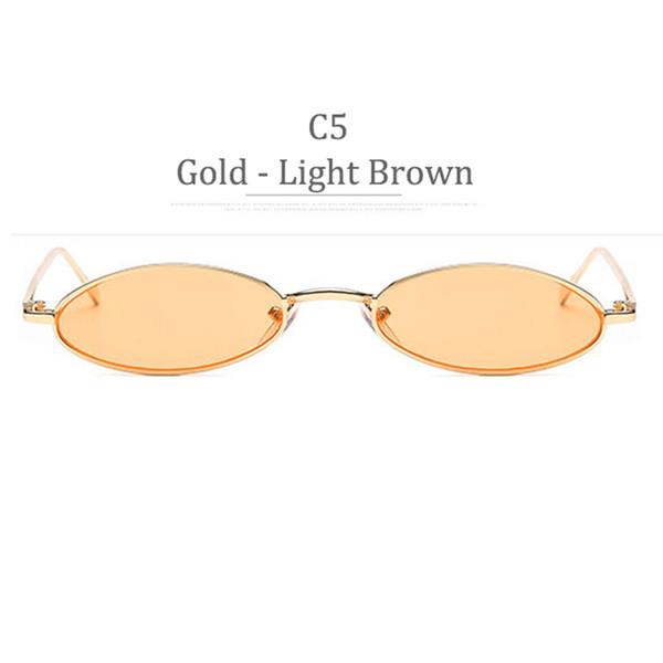 Obiettivo marrone lucido frame C5