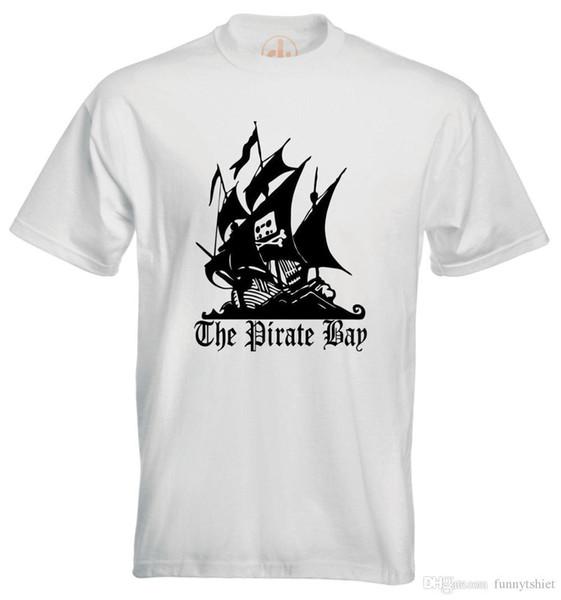 2018 Crossfit T Shirts The Pirate Bay T-shirt - Duck Ink Clothing Fashion Men T Shirt Clothing Printed Cotton Man o Neck Top