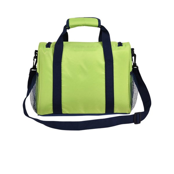 Camping Thermal Cooler Insulated Bags Portable Picnic Thermal Bag Tote Inclined Shoulder Handbag Insulated Storage For Outdoor