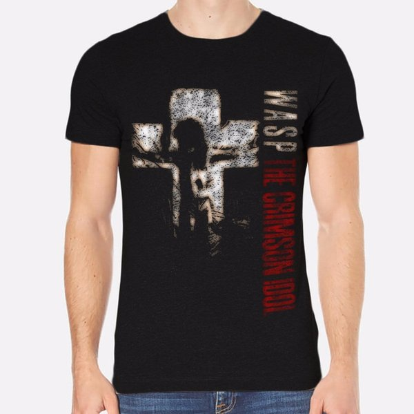 Fashion T Shirt Clothing Men's The Crimson Idol Rock New Men T-Shirt Black Clothing 126 Crew Neck Short-Sleeve Office Tee