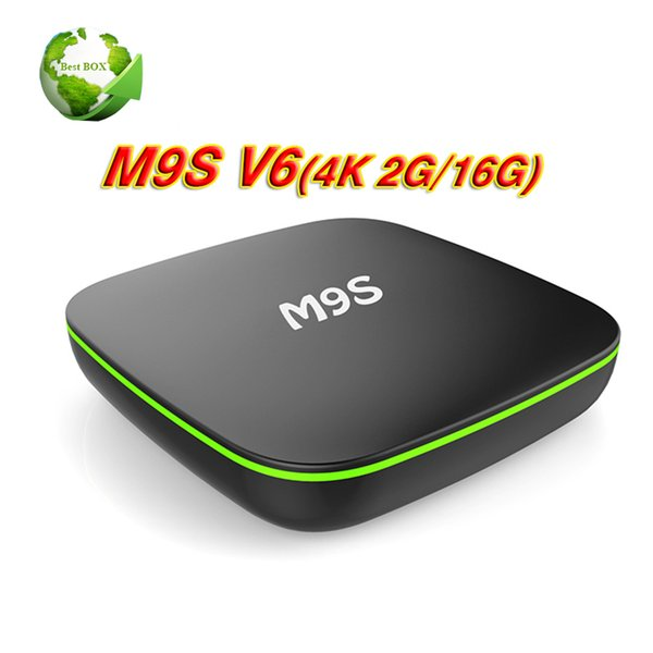 Android 7.1 TV Box M9S V6 RK3229 2GB 16GB Bluetooth Quad Core Internet Media Player WiFi Set Top Boxes Better s905w X96 mini TX3 X92 T95Z