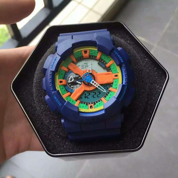 Newly Arrived Fashion Designer Watches Outdoor Sport Waterproof Digital Clock C Shock Resist Date Calendar Quartz Sport Wristwatches