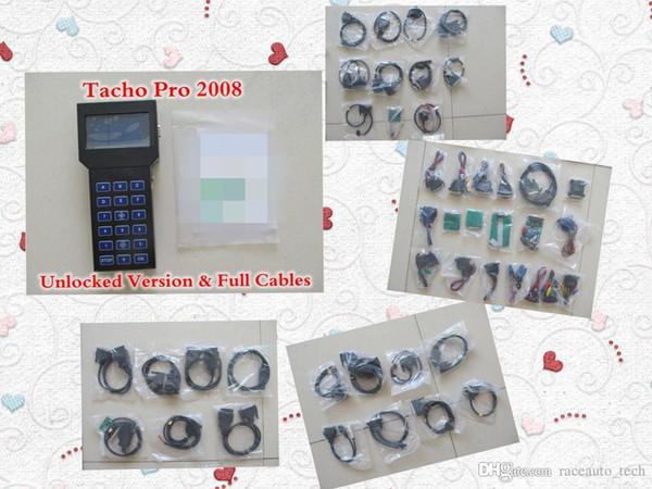 Tacho Pro 2008 июля версия универсальный тире программист сканер Tacho Pro 2008 Пробег коррекция инструмент TachoPro