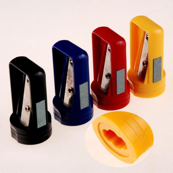 1pc Cute Octagonal Woodworking Pen Pencil Sharpener Kawaii Stationary Professional Pencil Cutter Knife Sharpener Office Supply