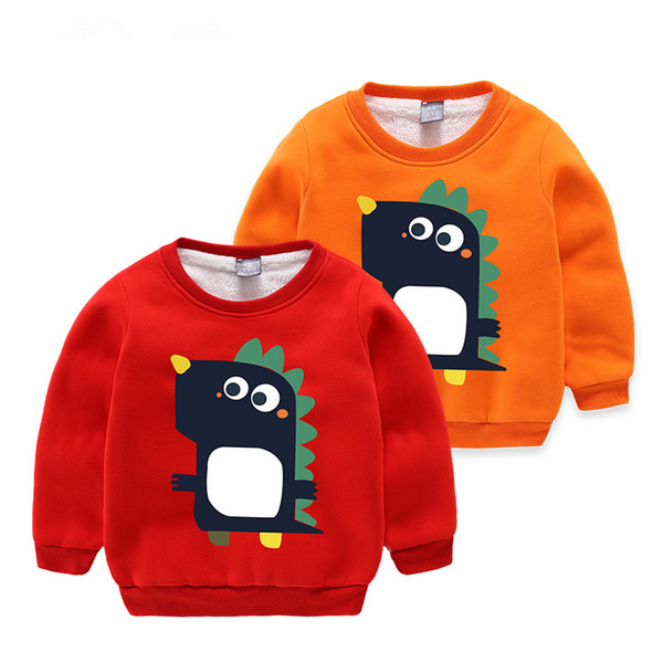 Boys Hoodies 2018 Fashion Cartoon Kids Hoodies Baby Kids Boys Cotton Long Sleeve Cartoon Coat Hoodie Jacket Sweater Pullover Outwear