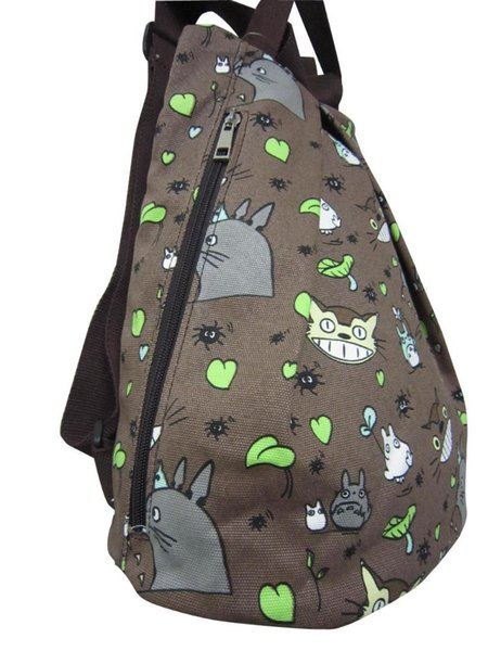 376# Japanese anime printing hayao miyazaki My Neighbor Totoro Cartoon backpack/bag shopping and leisure totoro