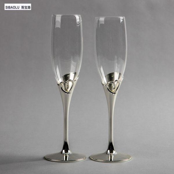 Boda champaña gafas boda champaña flautas tostado flautas copas de vino fiesta suministros