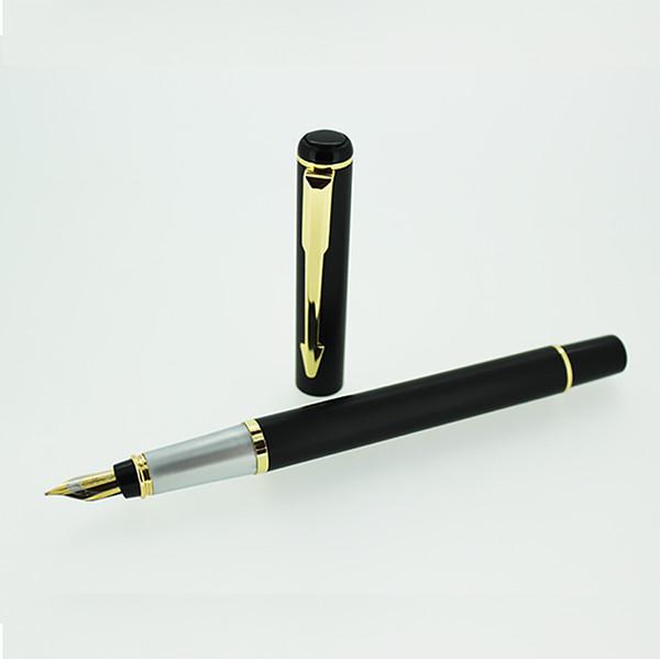Luxury Jinhao BAOER 801 Metal Fountain Pen Medium Nib Ink Pen School and Office Stationery