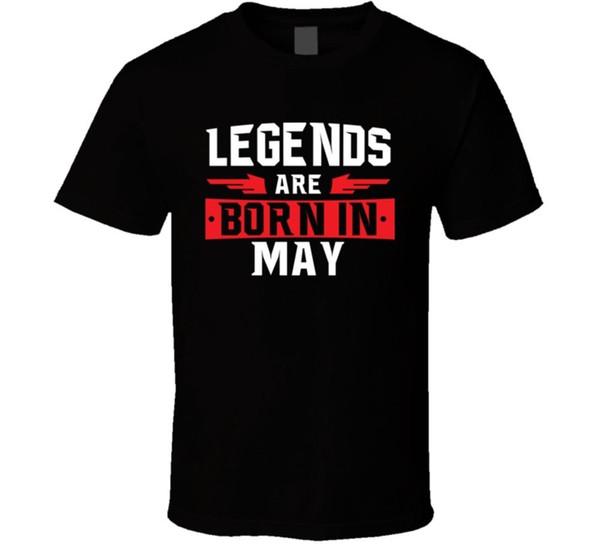 db6f47b1d Legends Are Born In May Taurus Gemini Zodiac Birtday Gift T Shirt ...