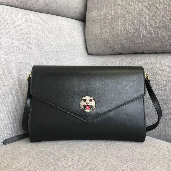 2018 new designer luxury handbags purses Pearl tiger head women cross body bag 7A original quality 527857 lady genuine leather shoulder bag