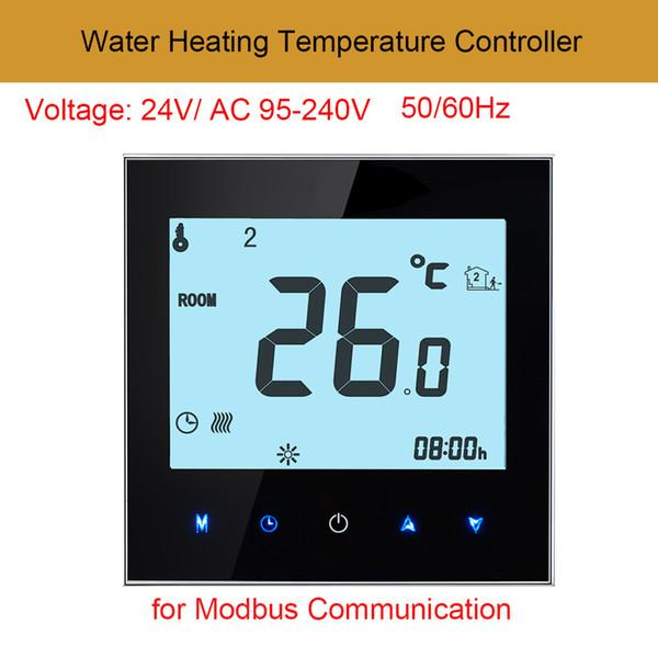 AC95V-240V Digital Touch Screen Termostato programmabile Sensore di temperatura ambiente con sensore NTC per comunicazione Modbus