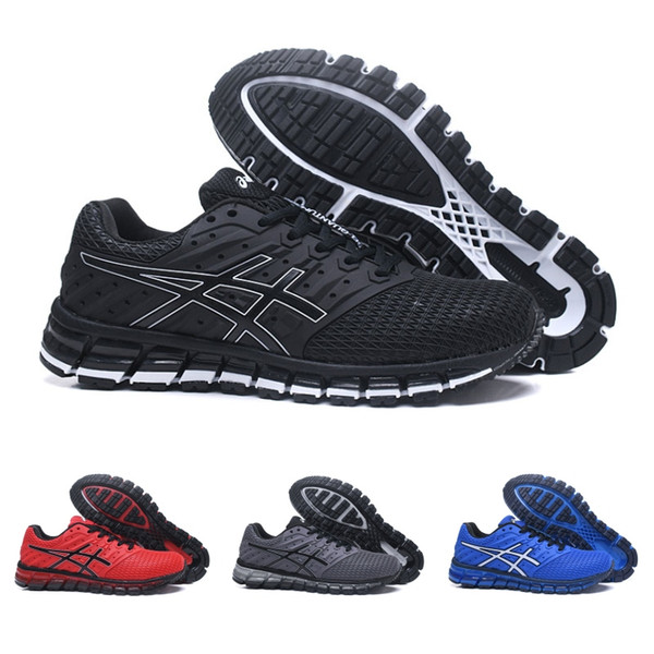 2020 2019 Asics New Gel Quantum 360 TN Vamp Mens Running Shoes Black Blue Red Grey Fashion Low Outdoor Sport Sneakers Size 7.5 11 From Wegosport,