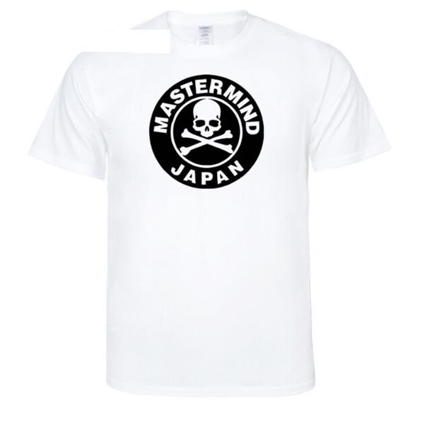 Mens Fashion T-shirt Mastermind Schädel Skeleton Design Japan Druck Frauen Casual Mehrere Farbe T-shirt Liebhaber Sommer Oansatz Tees